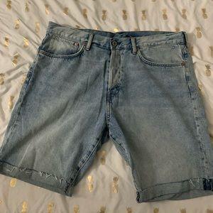 H&M Straight Demin Shorts
